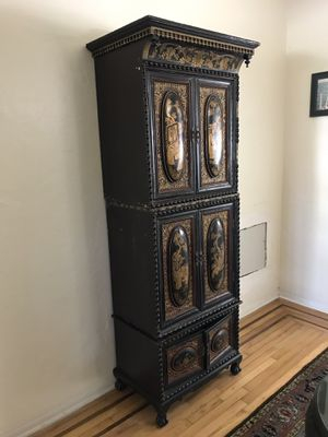 Antique Wooden Cabinet for Sale in Miami, FL