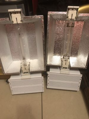 Grow light lot of 2 1000 Watts (tested) for Sale in Santa Ana, CA