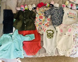 Baby clothes! 0-3 month barely used for Sale in Escondido, CA