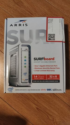 ARRIS - SURFboard 32 x 8 DOCSIS 3.0 Cable Modem SB6190 for Sale in Brooklyn, NY