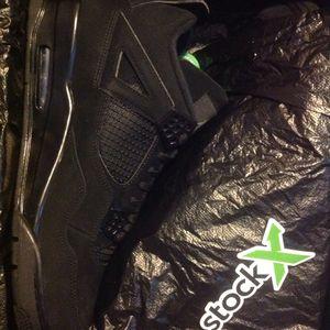 Jordan Retro 4 Black Cat sz14 for Sale in Beaumont, CA