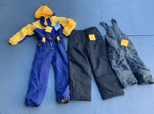 Children's ski clothes and snow boots various sizes for Sale in LAUD LAKES, FL