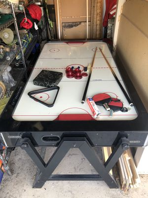 2-in-1 Pool/air hockey table for Sale in Chula Vista, CA