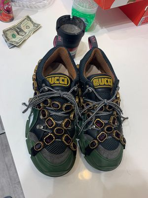 Gucci's Boots Size 42 Balaenciagas Triple S Size 41 Chanel Size 42 for Sale in Arlington, VA