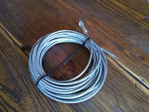 New 3/16 x 50' Winch Cable with Hook for Sale in Miami, FL