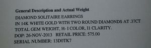 Diamond earings for Sale in Milwaukie, OR