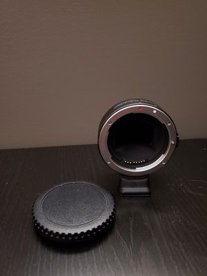 Lens Adapter (Sony body to Canon lens Fotodiox Pro adapter) for Sale in Grand Rapids, MI