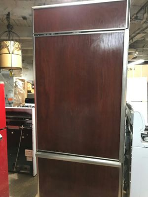 Stainless Steel Wood Face Refrigerator for Sale in Chicago, IL