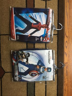Halloween marvel captain America and Spider-Man costumes for Sale in Canton, GA