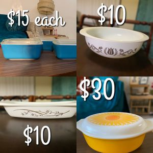 Vintage Pyrex for Sale in Rancho Cucamonga, CA