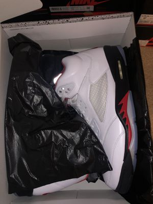 Nike Air Jordan 5 Fire Red Retro Size 14 New 2020 for Sale in Troy, MI