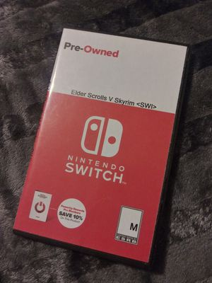 Elders Scrolls V Skyrim Nintendo Switch for Sale in Los Angeles, CA