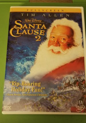 Santa Clause dvds and movie memorabilia for Sale in Burlington, NJ