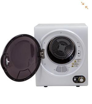 Magic Chef Compact 1.5 cu. ft. Electric Dryer in White (Pick up only Martinez One Stop Shop 5022 N 54th Ave suite 1 Glendale AZ 85301) Tuesday -Satur for Sale in Glendale, AZ