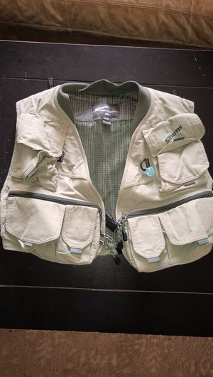 Simms Fishing Vest size small for Sale in Littleton, CO