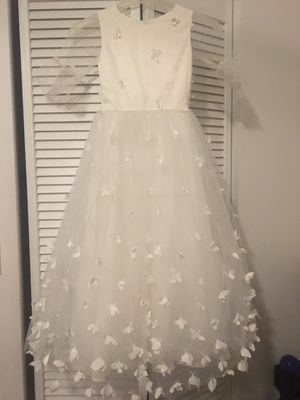 White flower girl / first communion dress for Sale in Miramar, FL