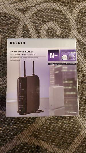 BELKIN N+ Wireless Router Model: F5D8235-4 v2 for Sale in Houston, TX