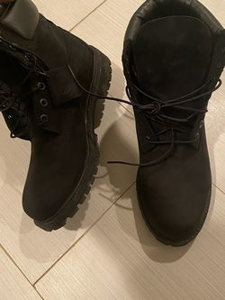 Black Timberland boots still like new Size 10 for Sale in Capitol Heights,  MD