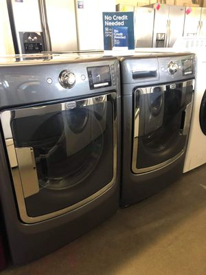 MAYTAG MAXIMA FRONT LOAD WASHER AND DRYER SET for Sale in Ontario, CA