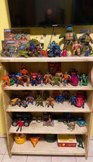 Vintage 1980s toys. He-Man, TMNT, MASK for Sale in Fresno, CA