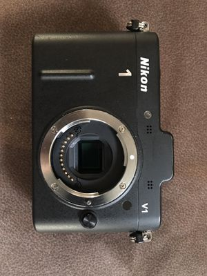 Nikon 1 V1 Mirrorless Digital Camera Body and more for Sale in West Collingswood Heights, NJ