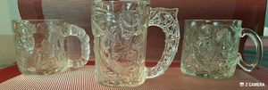 BATMAN FOREVER 1995 COLLECTORS GLASS MUGS for Sale in Haines City, FL