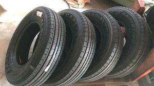 Carlisle Radial Trail HD Trailer Tire - ST205/75R14 LRC/6ply SET OF 4 for Sale in Houston, TX