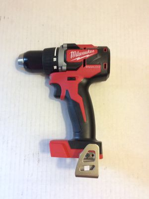 """Brand New Milwaukee M18 Brushless 1/2"""" Drill Driver 2 Speeds ( tool only ) 65 Firm on Price. 65 Firme en Precio for Sale in Merced, CA"""