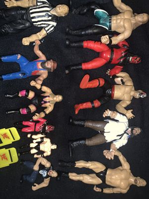 Wwf action figure lot for Sale in Omaha, NE