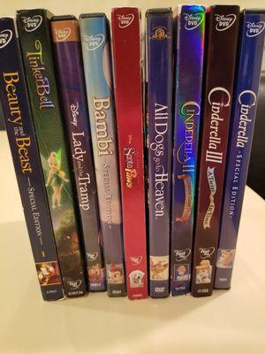 Disney dvds original for Sale in Tinley Park, IL