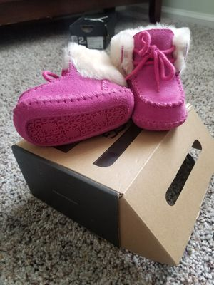 Used, Ugg infant sparrow boots (hot pink) for Sale for sale  Staten Island, NY