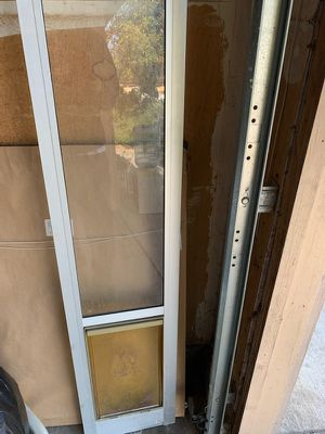 Doggy door for small dog for Sale in Vacaville, CA