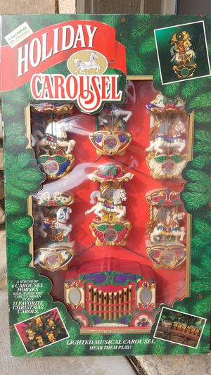Holiday carousel for Sale in Riverside, CA