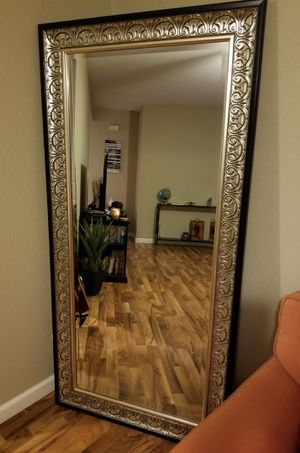 Full length leaner mirror for Sale in Pekin, IL