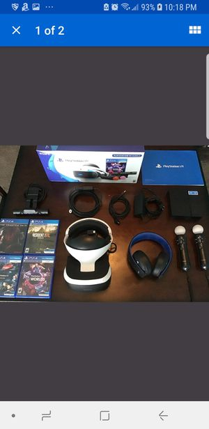 Playstation 4 VR Worlds Bundle (Pick-up Only) for Sale in Brooklyn, NY