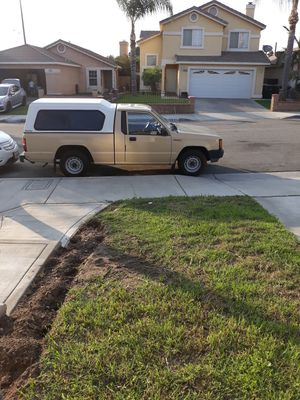 Mitsubishi 1987 with camper for Sale in Fontana, CA