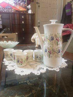 Beautiful Vintage Bavarian/Germany Coffee pot and Espresso cups for Sale in Mountlake Terrace, WA