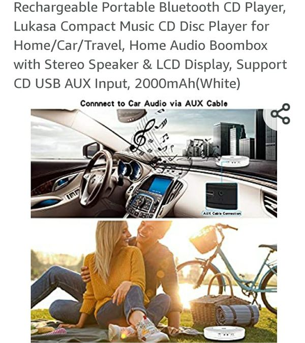 PORTABLE CD PLAYER.