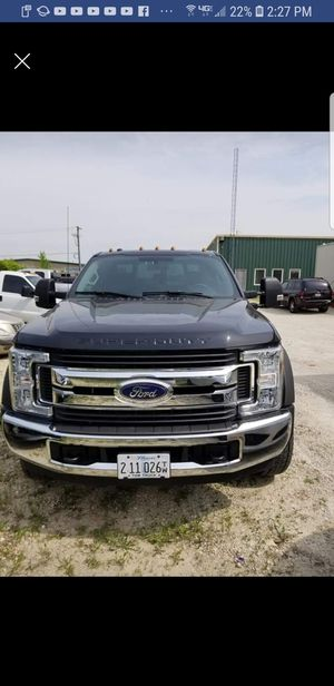 2017 ford f450 with dynamic 701 self loader for Sale in Plainfield, IL