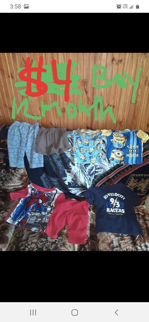 Boys 12 months clothing lot good condition for Sale in Saint Thomas, PA
