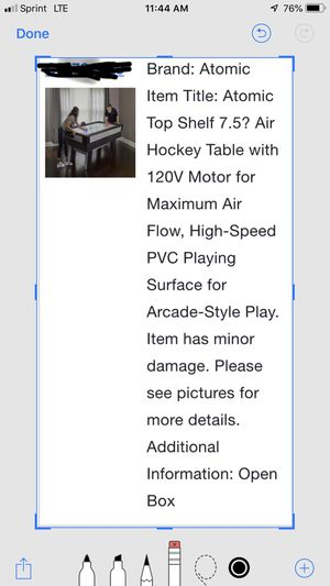 Atomic air hockey table for Sale in Columbus, OH