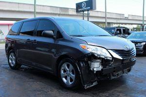 2014 Toyota Sienna L 7 Passenger 4dr Mini Van Minivan VIN 5TDZK3DC8ES452077 for Sale in Miami, FL