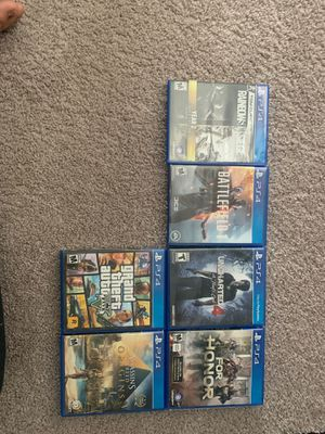 Ps4 games for Sale in Wesley Chapel, FL