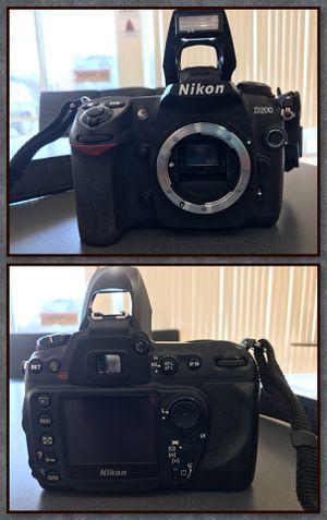 Nikon D200 Digital Camera w/18-200mm Nikkor Lens for Sale in Marietta, OH