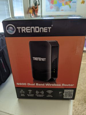 TrendNet N600 Wireless Router for Sale in Fresno, CA