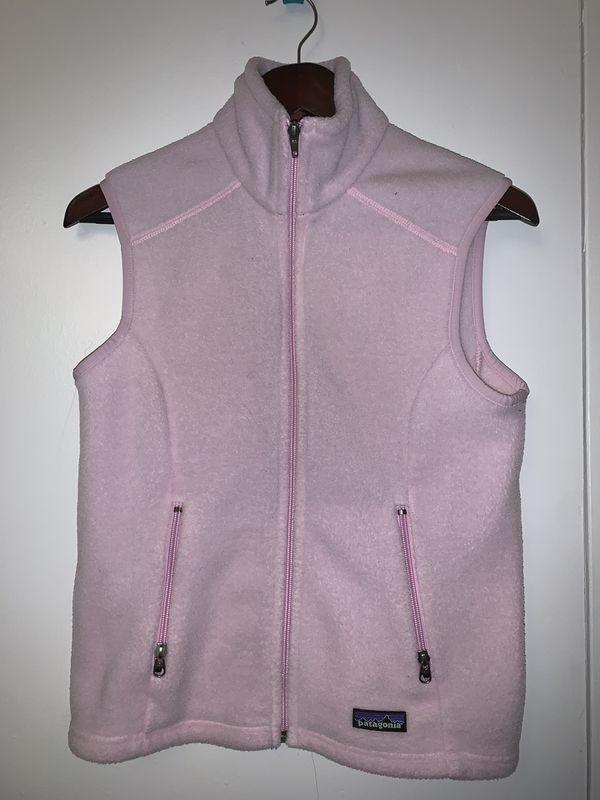 Pink Patagonia Women's Vest