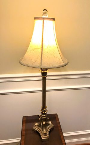 2 tall, elegant lamps for Sale in Holly Springs, NC