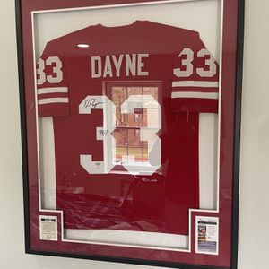 Autographed Jersey Custom Framed for Sale in Columbia, MD