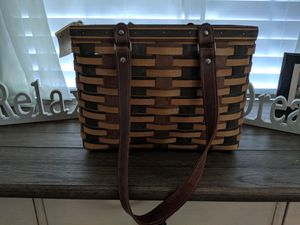 PRICE LOWERED! Longaberger Signature Weave Village Basket (a factory 2nd quality) for Sale in Heath, OH