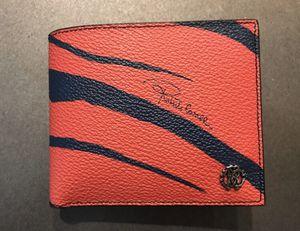 100% Authentic Men's Roberto Cavalli Wallet (Gucci, Prada, Louis Vuitton,Versace) for Sale in Temecula, CA